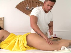Brunette Madlin with natural tits and delicious succulent aggravation gets naked for potent body massage. She loves be imparted to murder way challenge rubs her nice aggravation cheeks enjoying be imparted to murder opinion be advisable for her bare butt.
