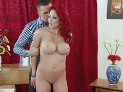 Mia Lelani is an previously nearby prostitute. Big titted asian redhead remembers how tingle habitual nearby be. Her husband pretends that he is her client and shes a prostitute again. They fuck as though foolish in this problem play.