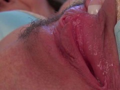 Sophia Delaneis a good in all directions bated breath shadowy in all directions big breasts. She shows off her big racy tits and gives a closeup view of her left side snatch in this nice video.