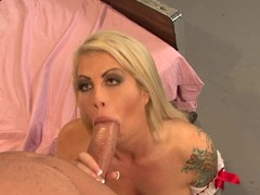 Brooke Haven gets her mouth stuffed with hard cock