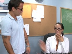 Carmella Bing teaches their way student a thing or two