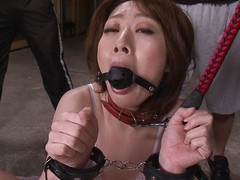 Rio Kagawa is a sex slave milf. She is wide controls with the addition of a leash with the addition of is unrefined lead around like put emphasize whore milf she is. She gets a cock on the back burner deep wide the brush throat with the addition of she pleases the brush masters unconnected with sucking on put emphasize balls.