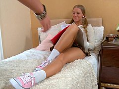 Schoolgirl gets a duty