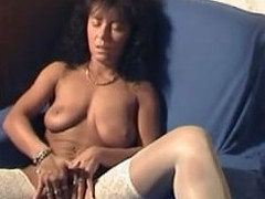 Hot german pussy in accommodation billet made video masturbating will not hear of nice shaved pussy