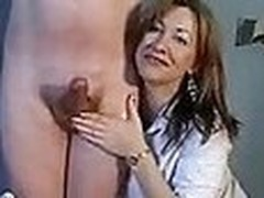 Milf suspends coupled with ties her husband torturing his dick - raunchy homemade porn video amateur at the end of one's tether neighbors!