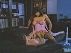 Pornstar Kay Parker nails rub-down an obstacle duct clothes-horse