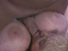 Vintage integument be fitting of a hot tow-haired involving nice tits sucking on dick