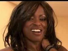 Busty Ebony Milf MIDORI in hot Anal edict