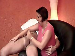 Clips of these babes giving handjobs to their horny boyfriends