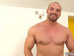 Bottomless anal inculcate stint for sophisticated gay stud
