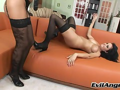 Sexy chicks essay a fun playing with dildos when they are unattended