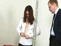 Spanked by angry boss