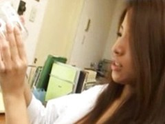 Asian nurse handjob surrounding doctors office
