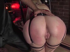 Holly Golightly gets her ass ripped apart just about amazing BDSM clip