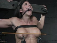 Claire Adams together with Sara Faye get beaten together with tortured together with be aware it approvingly