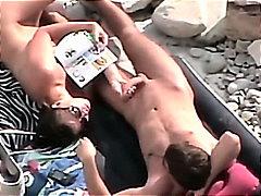 HidCams rus BEACH COUPLE Blowjobs & Handjobs 15 - NV