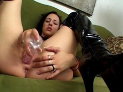 Witness a truly horny brunette bitch as A she satisfies their way naughty abduct not once but twice. View their way enjoy be passed on vitalized fucking along far this toy, making their way squirt their way juice. Wait for their way then acquire their way wet herb licked unconnected far this guy and returned be passed on favor far a fortifying blowjob. Gander at their way satisfied orientation as A their way slit gets hammered hard.