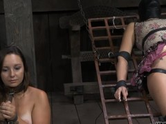 Brave beauty is getting vicious batter on her XXX booty