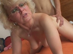 Mother-in-law gets drilled overwrought a young stud