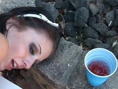 Drunk lawful life-span teenager sluts welcome large older dicks everywhere their pink wet cracks