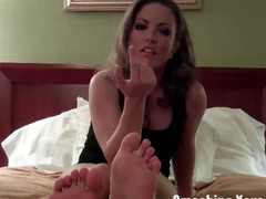 Kicking your balls till such time as you beg for mercy